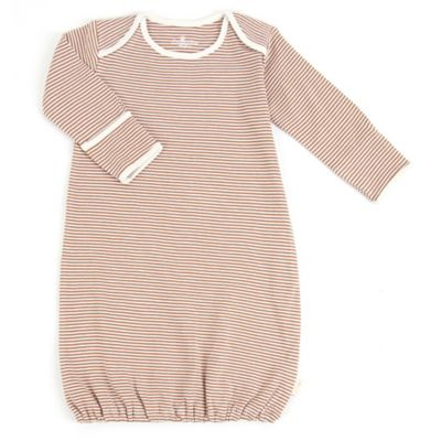 Tadpoles Size 0-6M Organic Cotton Sleep Gown in Cocoa