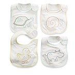 Carter's® 3-Pack Animals Bib in Ivory/Multicolor