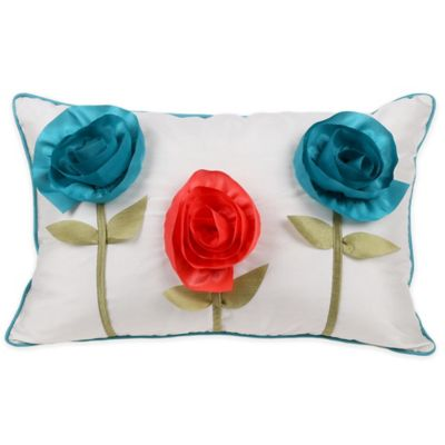 Flowers u Shaped Pillow