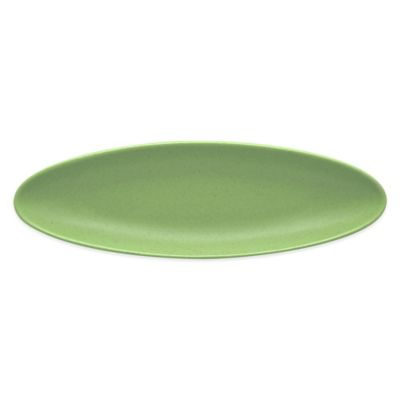 Green Oblong Tray