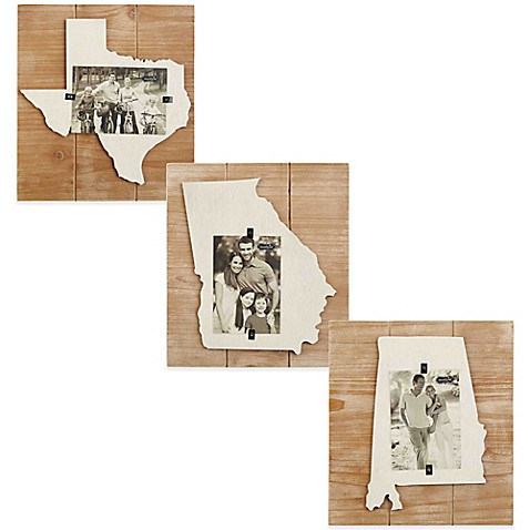 Mud Pie® State Picture Frame Collection