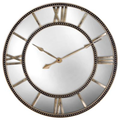 Antiqued Gold Wall Clocks