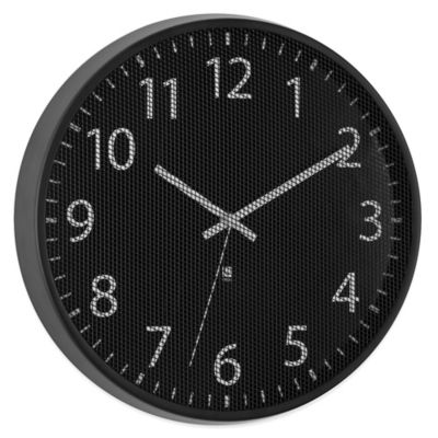 Umbra® Perftime Wall Clock in Black