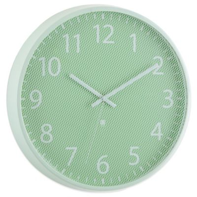 Umbra® Perftime Wall Clock in Mint