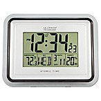 La Crosse Technology Clear Frame Atomic Digital Wall Clock