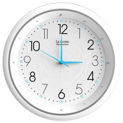 La Crosse Technology Night Vision Analog Wall Clock