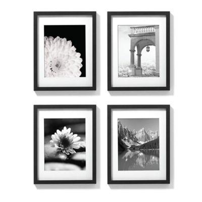 11-Inch x 14-Inch Gallery Frames in Black (Set of 4)
