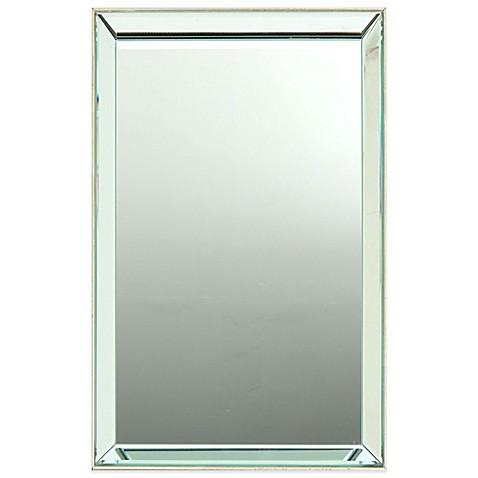 Georgina 20 inch x 30 inch rectangular wall mirror in for Mirror 20 x 30