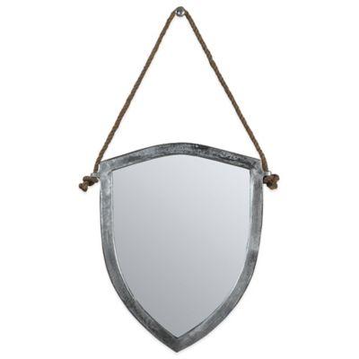 Ren-Wil 18-Inch x 21-Inch Montagu Mirror in Nickel