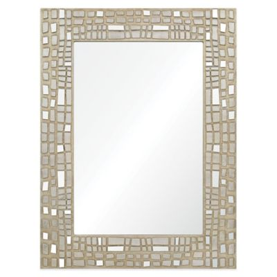Chrome Rectangular Wall Mirror