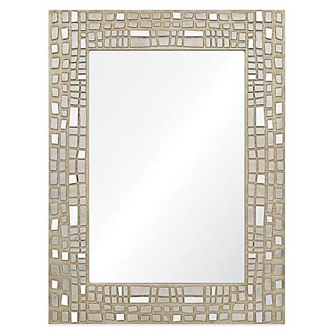 Buy Ren Wil 30 Inch X 40 Inch Rectangular Duchamp Mirror In Silver Chrome From Bed Bath Beyond