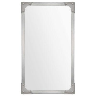 Ren-Wil Tia 40-Inch x 24-Inch Rectangular Mirror in Antique Nickel