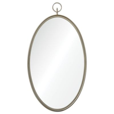 Decorate Oval Mirror