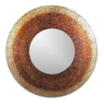 Ren-Wil 40-Inch x 40-Inch Seychelle Mirror in Mosaic