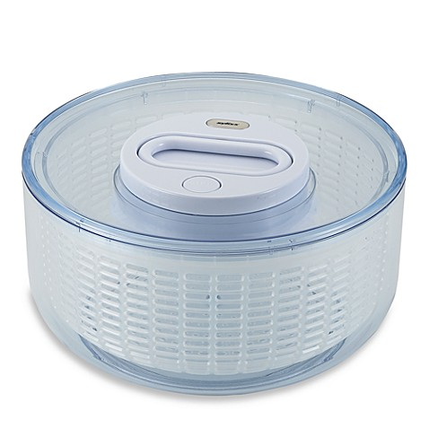 Zyliss® Easy Spin™ Large Salad Spinner in Clear