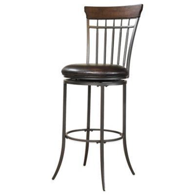 Hillsdale Cameron Swivel Vertical Spindle Barstool