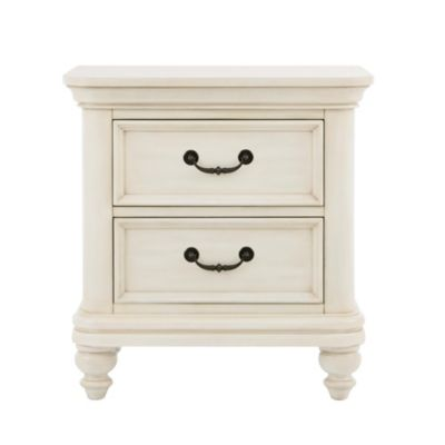 Pulaski Madison 2-Drawer Nightstand in Antique White