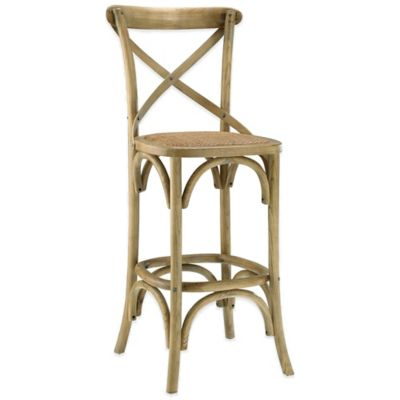 Modway Gear Barstool in Grey