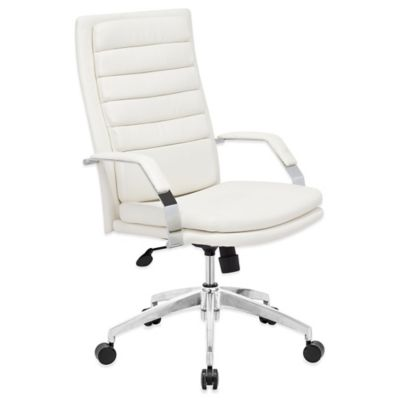 Zuo® Director Comfort Office Chair in White