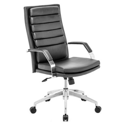 Zuo® Director Comfort Office Chair in Black