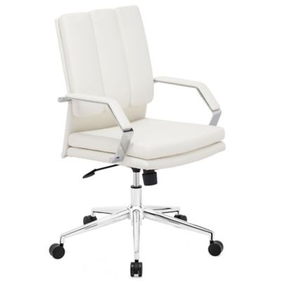 Zuo® Director Pro Office Chair in White
