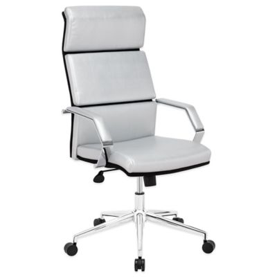 Zuo® Lider Pro Office Chair in White