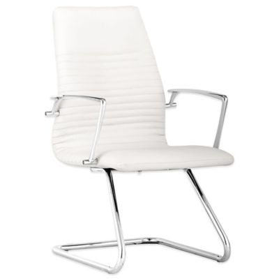 Zuo® Lion Conference Chair in White