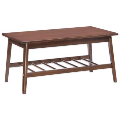 Zuo® Aventura Coffee Table in Walnut