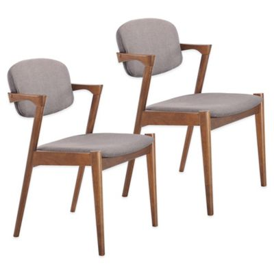 Dove Grey Dining Chairs