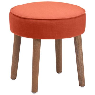 Zuo® Britton Stool in Orange