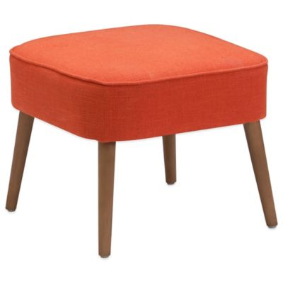 Zuo® Buckeye Stool in Orange