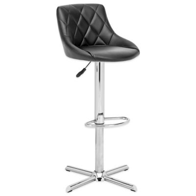 Zuo® Devilin Barstool in Black
