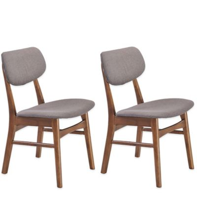 Zuo® Midtown Dining Chairs in Dove Grey (Set of 2)