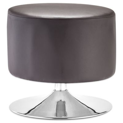 Zuo® Plump Ottoman in Brown