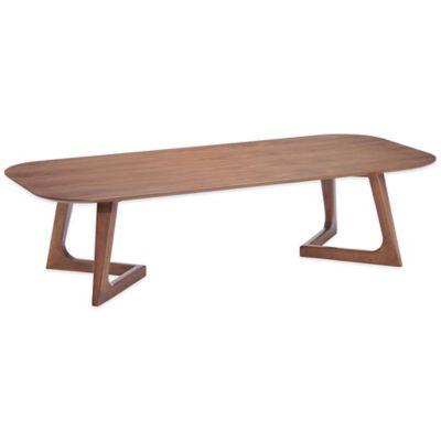 Zuo® Park West Coffee Table in Walnut