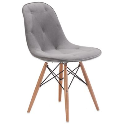 Zuo® Probability Dining Chair in Grey
