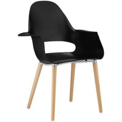 Modway Soar Dining Armchair in Black