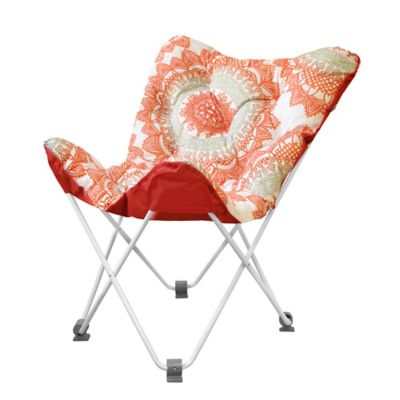 Tufted Folding Butterfly Chair in Bungalow
