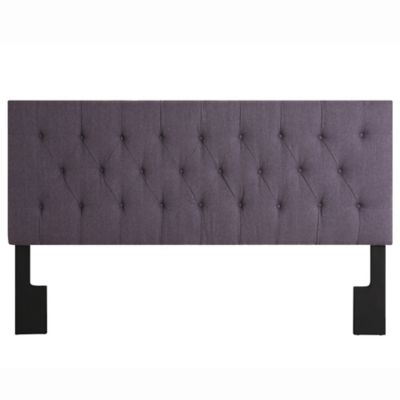 Pulaski Doni Upholstered Queen Headboard in Purple