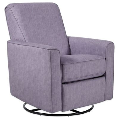 Pulaski Harmony Swivel Glider Chair in Cream