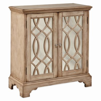 Pulaski Kernt 2-Door Cabinet in Light Brown