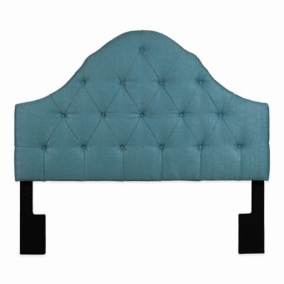 Pulaski Lovell Queen Upholstered Headboard in Seafoam