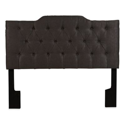 Pulaski St. Lawrence Upholstered Queen Headboard in Grey
