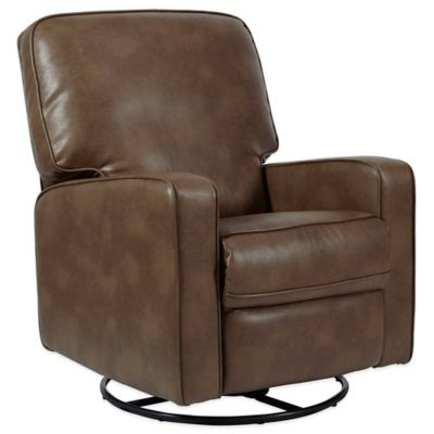 Pulaski Sutton Swivel Glider Recliner in Chestnut