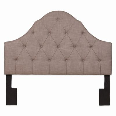 Pulaski Thomas Moare Upholstered Headboard in Cream