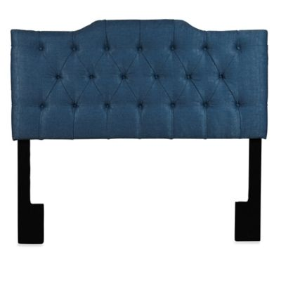 Pulaski William Hill Upholstered Queen Headboard in Denim