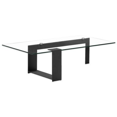 Zuo® Zeon Coffee Table in Black