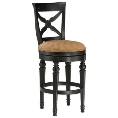 Hillsdale Northern Heights Swivel Counter Stool in Honey