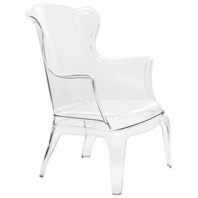 Zuo® Transparent Vision Chair