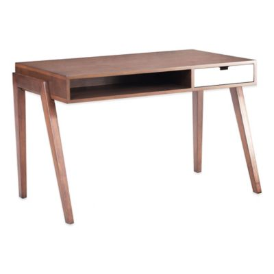 Zuo® Linea Desk in Walnut